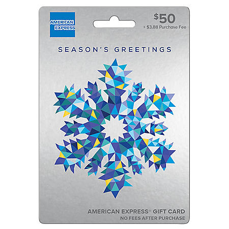 Holiday American Express® $50 Gift Card