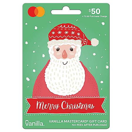 Holiday Vanilla Mastercard® $50 Gift Card