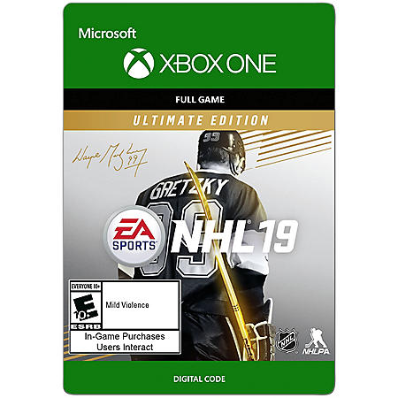 NHL 19: Ultimate Edition (Xbox One) - Digital Code