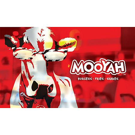 MOOYAH Burgers, Fries & Shakes $50 Value Gift Cards - 2 x $25