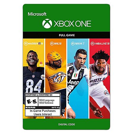 EA Sports 19 Bundle (Xbox One) - Digital Code