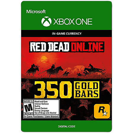 Red Dead Redemption 2: 350 Gold Bars (Xbox One) - Digital Code