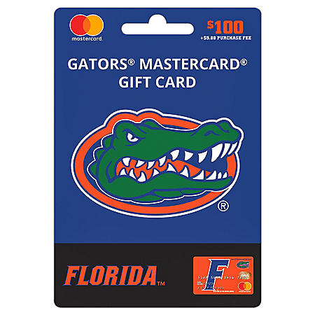 $100 UFan University of Florida Mastercard® Gift Card