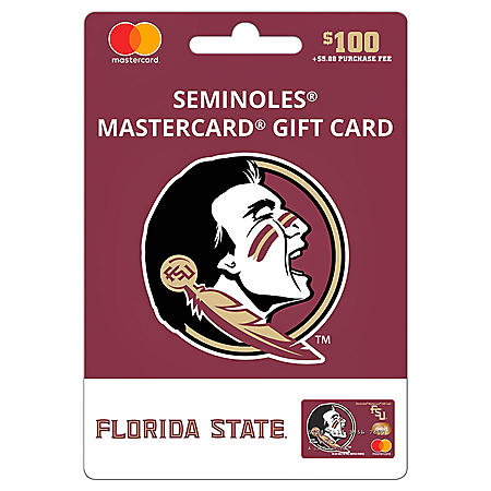 $100 UFan Florida State Mastercard® Gift Card