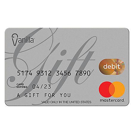 Vanilla eGift Mastercard® Virtual Account - Various Amount (Email Delivery)
