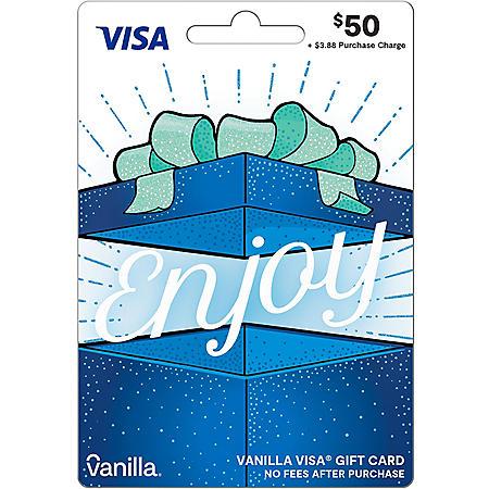 $50 Vanilla Visa Gift Card
