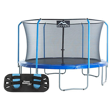 Skytric 13' Round trampoline with Trampoline Jumping Skate