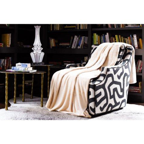 Fraiche Maison Velvet Plush Twin Blanket