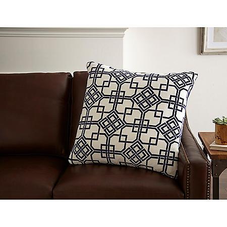 Velvet Plush Decorative Pillow (Assorted Colors)
