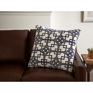 Velvet Plush Decorative Pillow (Assorted Colors)