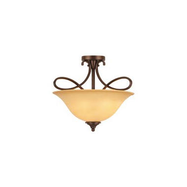 Hardware House Bennington 3-Light Semi-Flush Mount