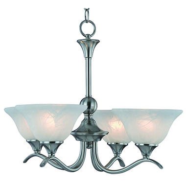 Hardware House Dover 4-Light Chandelier