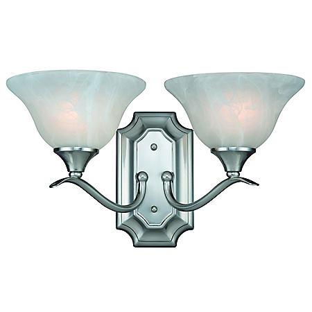 Hardware House Dover 2-Light Wall Light