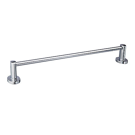 "Hardware House Lancaster Chrome 24"" Towel Bar"