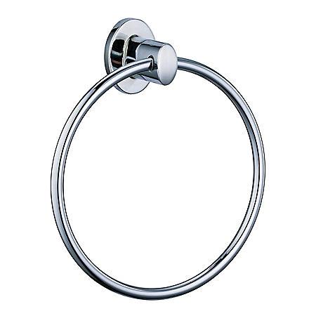 Hardware House Lancaster Chrome Towel Ring