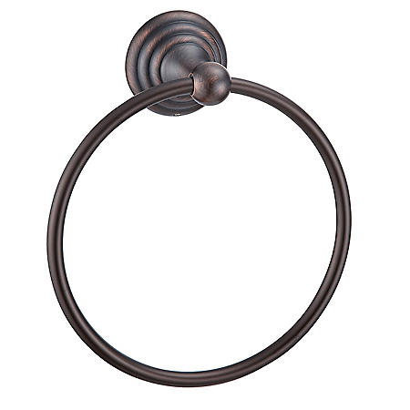 Hardware House Stockton Classic Bronze Towel Ring
