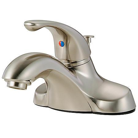 Hardware House Single Handle Bathroom Faucet - Satin Nickel