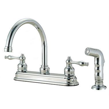 Hardware House 2 Handle Bismark Kitchen Faucet W Sprayer Sam S Club