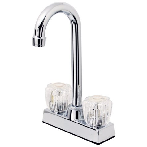 Hardware House Hi-Rise 2 Handle Bar Faucet