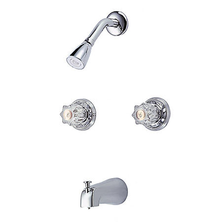 Hardware House Tub/Shower 2 Handle Mixer