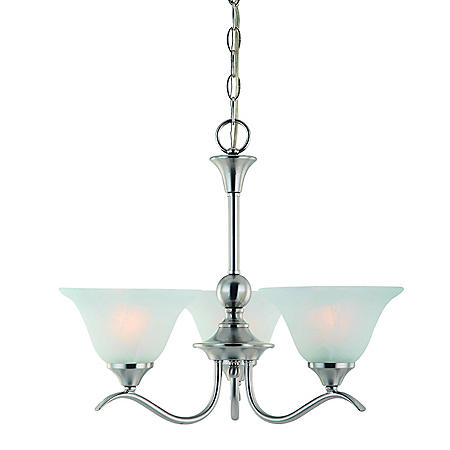Hardware House Dover 3-Light Chandelier