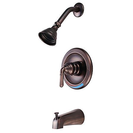 Hardware House Single Handle Tub/Shower Faucet - Classic Bronze