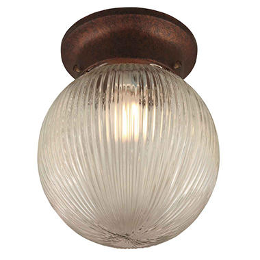 Hardware House 1-Light Ceiling Light - Classic Bronze