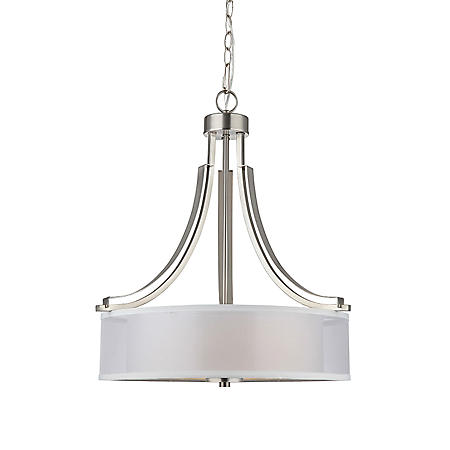 Hardware House El Dorado Chandelier - Satin Nickel