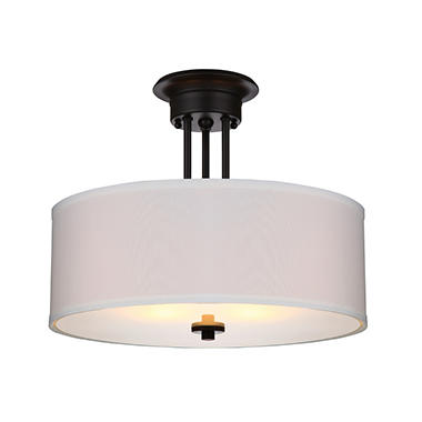 Hardware House Lexington Semi-Mount Ceiling Light Fixture - Oil ...