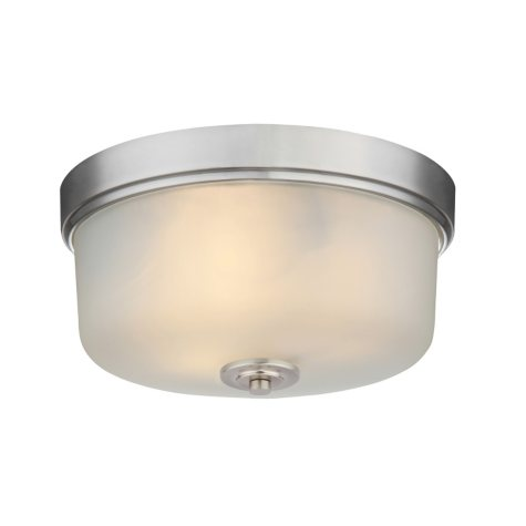 Hardware House Lexington Flushmount Celing Light Fixture - Satin Nickel