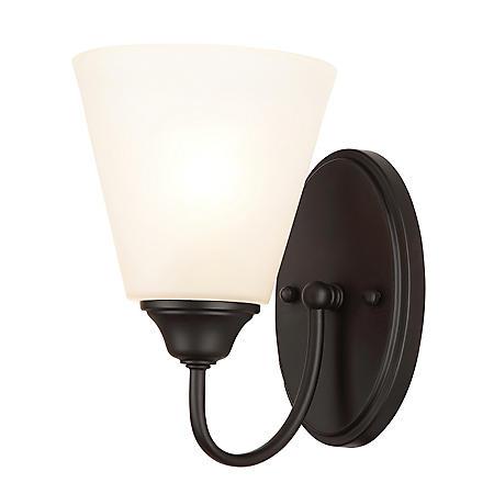 Hardware House Galveston Black Wall-Mounted Light Fixture (Multiple Options)