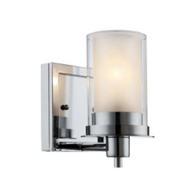 hardware house avalon chrome wall mounted light fixture multiple options - Bathroom Light Fixtures