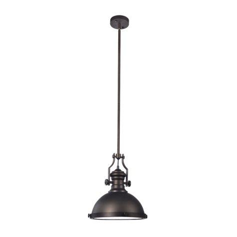 Hardware House Iron Pendant Light Fixture - English Bronze