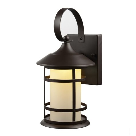 Hardware House Wall-Mounted LED Lantern - English Bronze