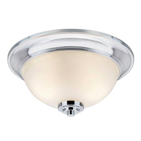 Hardware House Avalon Flushmount Ceiling Light Fixture - Chrome