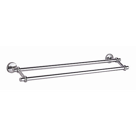 "Hardware House Santa Rosa 24"" Double Towel Bar - Chrome"