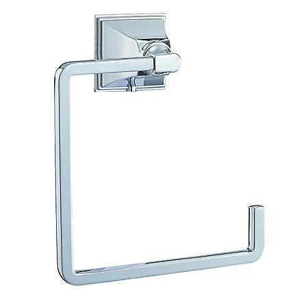 Hardware House Monterey Bay Towel Ring - Chrome