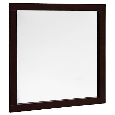 """Hardware House 30""""x30"""" Vanity Mirror - Espresso"""