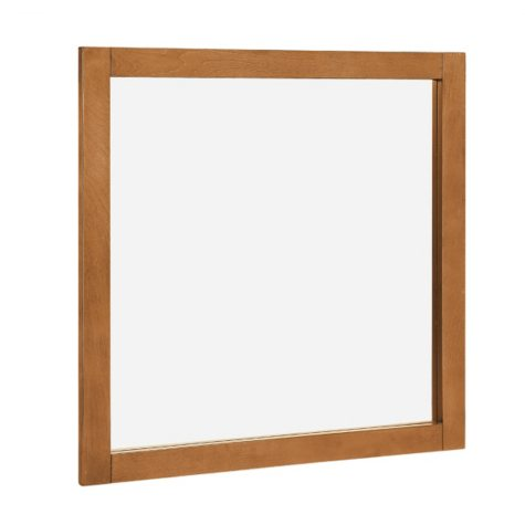 "Hardware House 30""x30"" Vanity Mirror - Honey Birch"