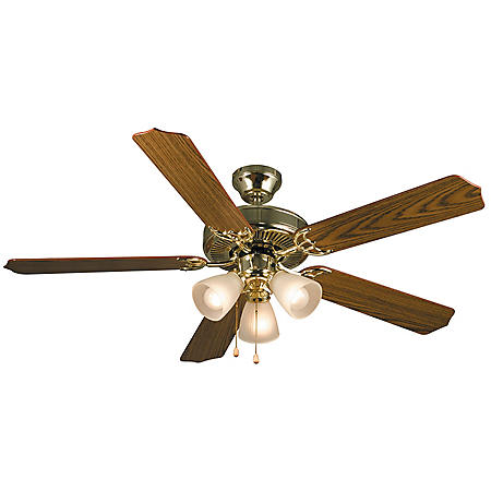 "Hardware House Palladium 52"" Ceiling Fan (Multiple Options)"