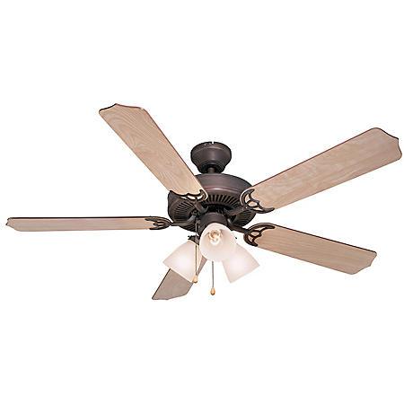 "Hardware House Palladium 52"" Ceiling Fan (Multiple Options)"