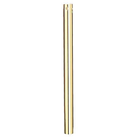 "Hardware House 21MM x 36"" Polished Brass Downrod"