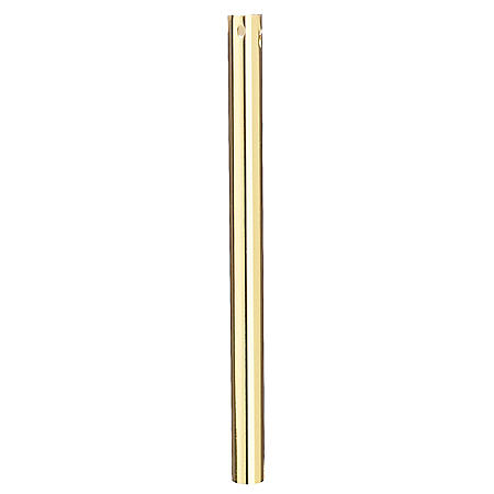 "Hardware House 21MM x 48"" Polished Brass Downrod"