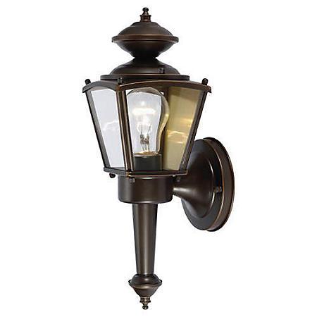 Hardware House Outdoor Square Coach Lantern - Classic Bronze