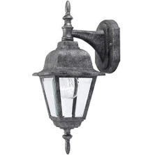 Hardware House Outdoor Coach Lantern - Pewter