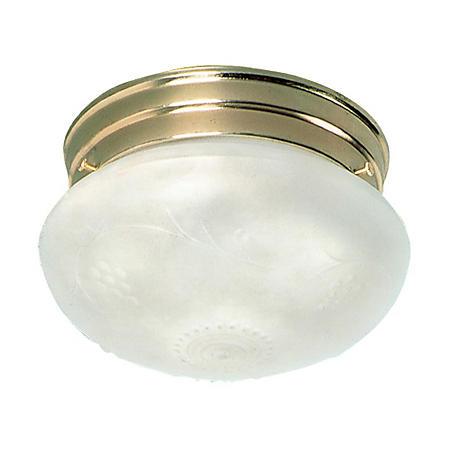 Hardware House 1-Light Ceiling Light - Polished Brass