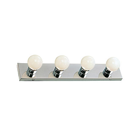 Hardware House 4-Light Bath/Wall Strip - Chrome