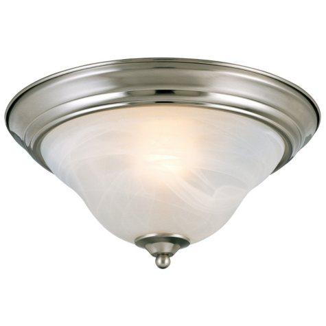 Hardware House Birstol 2-Light Ceiling Fixture - Brushed Nickel