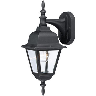 Hardware House Textured Outdoor Coach Lantern - Black