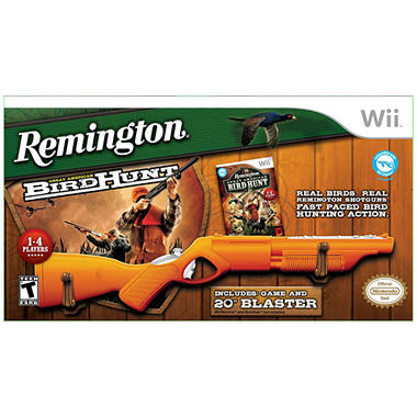 REMINGTON W BLASTER GAME AND ACCESSORY